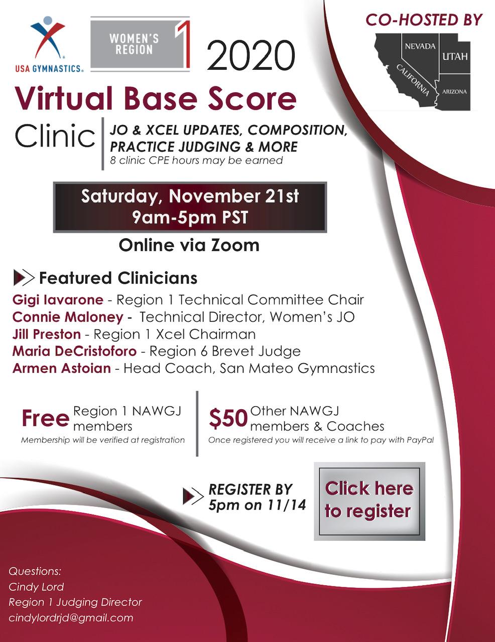 Base Score Clinic 2020